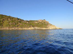 sortie en mer à Porquerolles