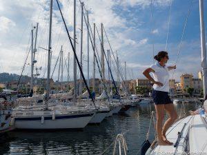 promenade en mer à Cannes
