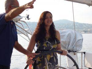 Balade en mer à Cannes