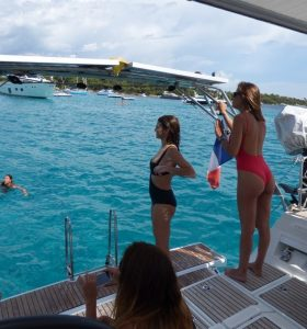 Promenade en mer à Antibes