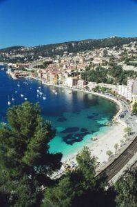 Balade en bateau à Nice.