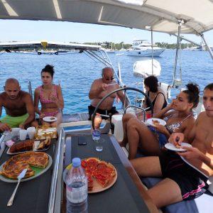 Sortie en voilier à Cannes.
