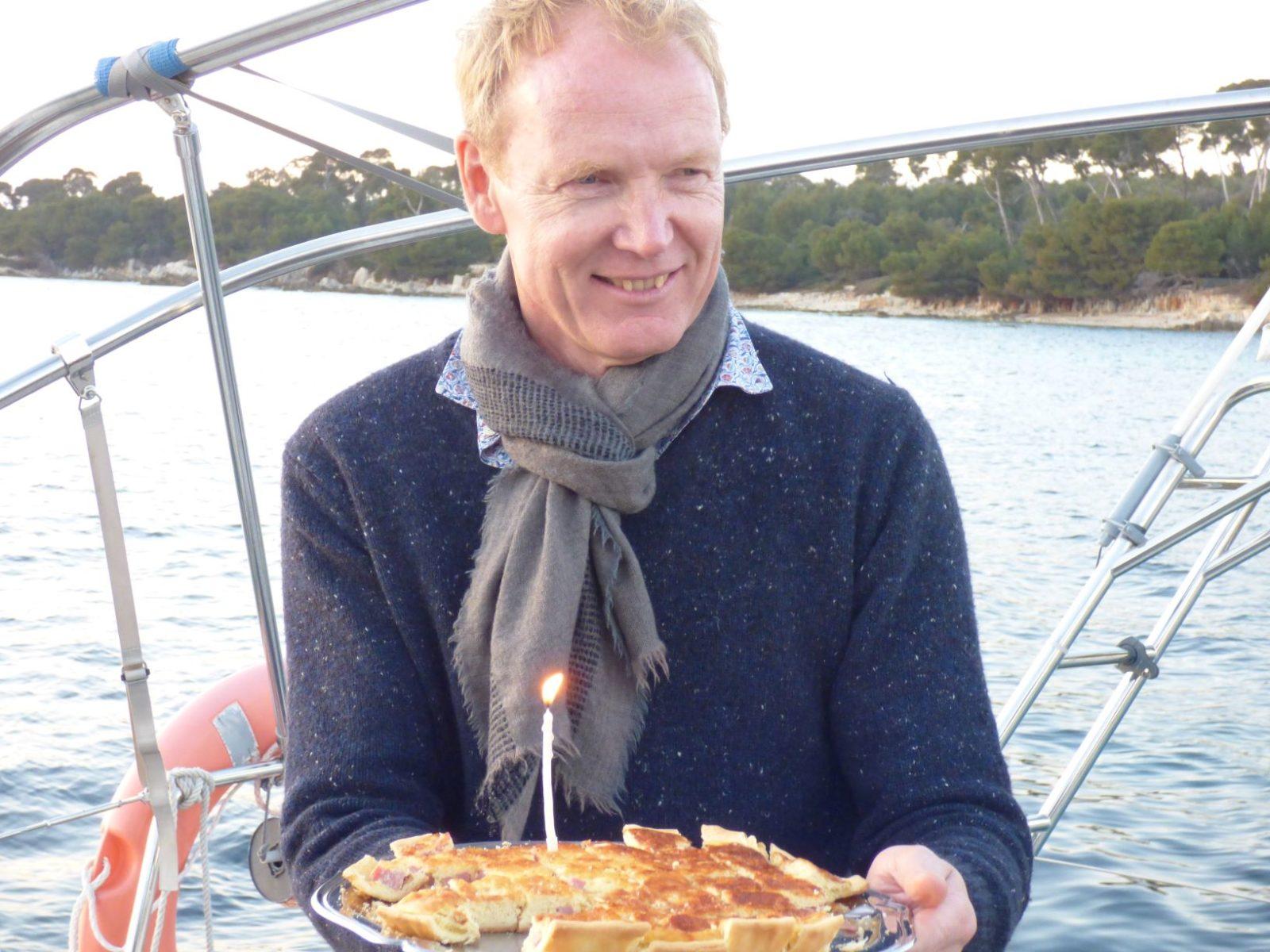Sortie anniversaire en mer